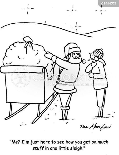 christmastime cartoon