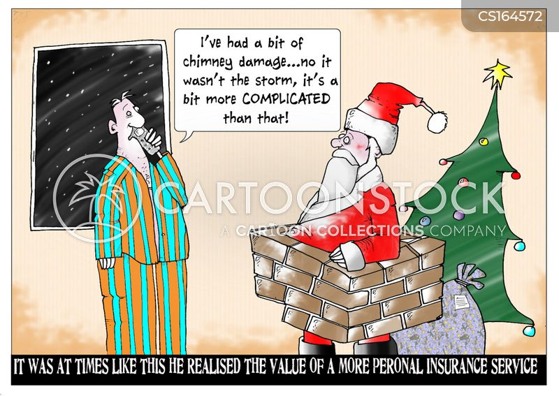 christmas eve cartoon