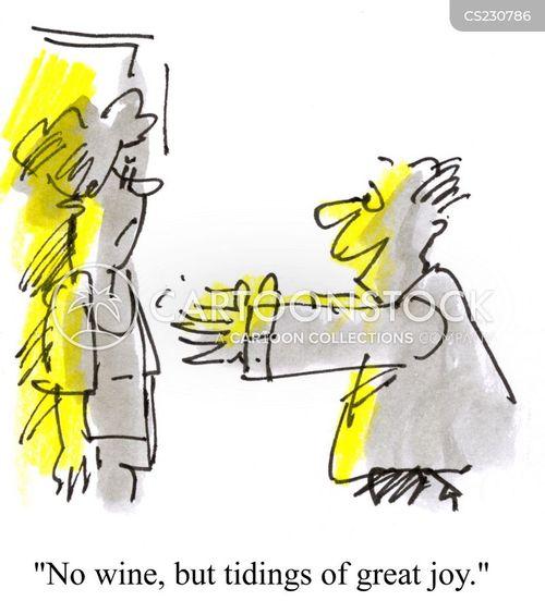 tidings cartoon