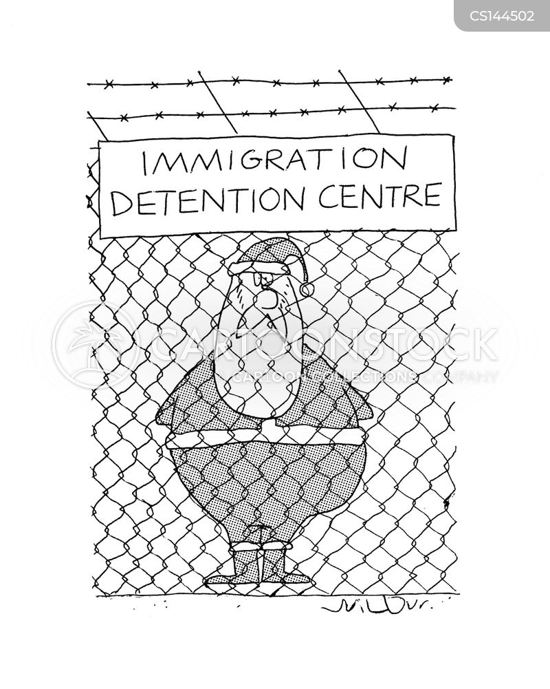 detention centres cartoon