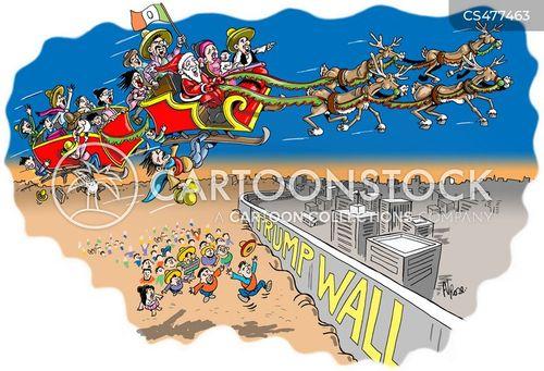 migrant worker cartoon