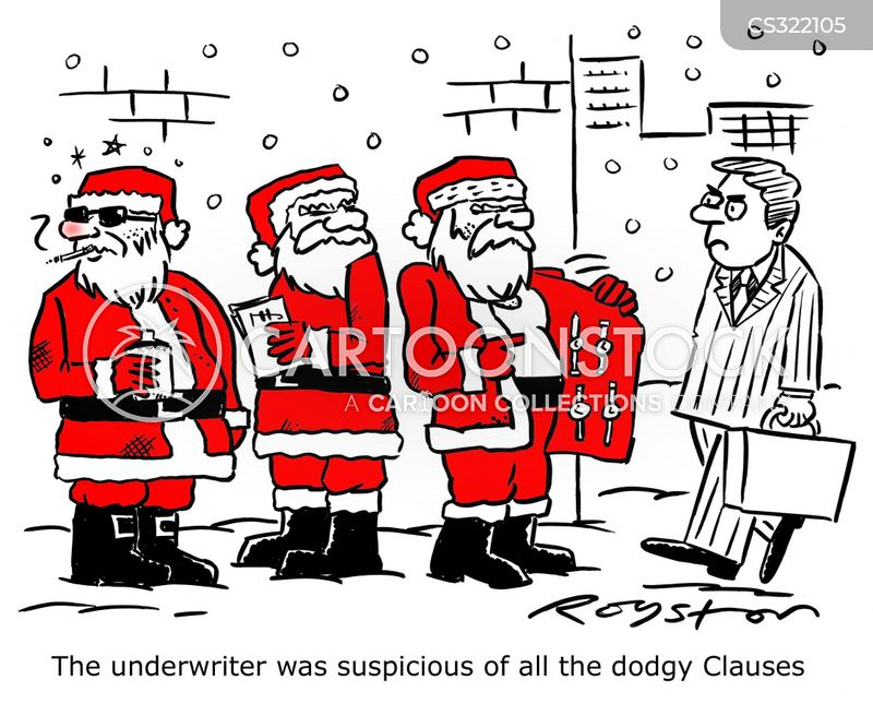 clause cartoon