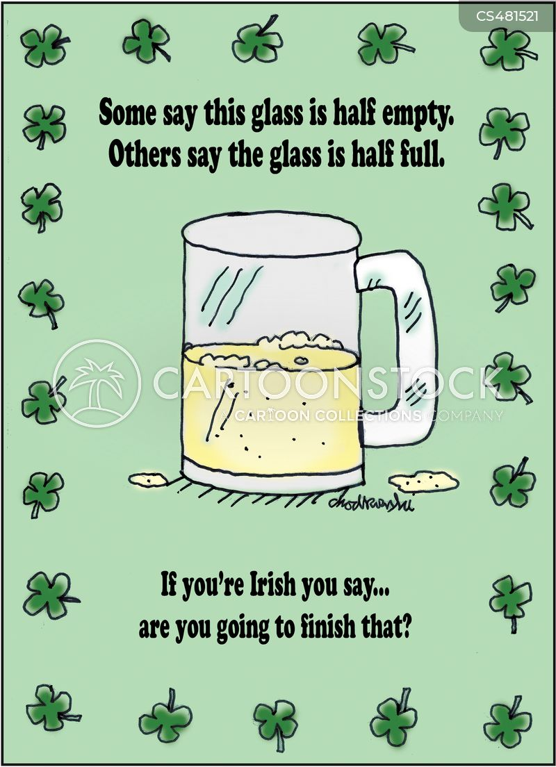 irish stereotype cartoon