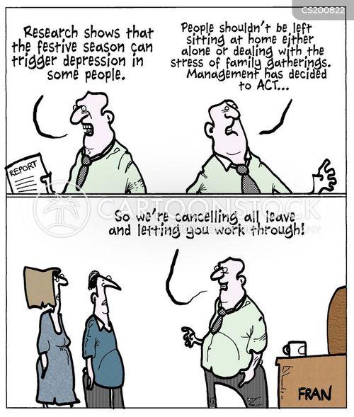 january blues cartoon