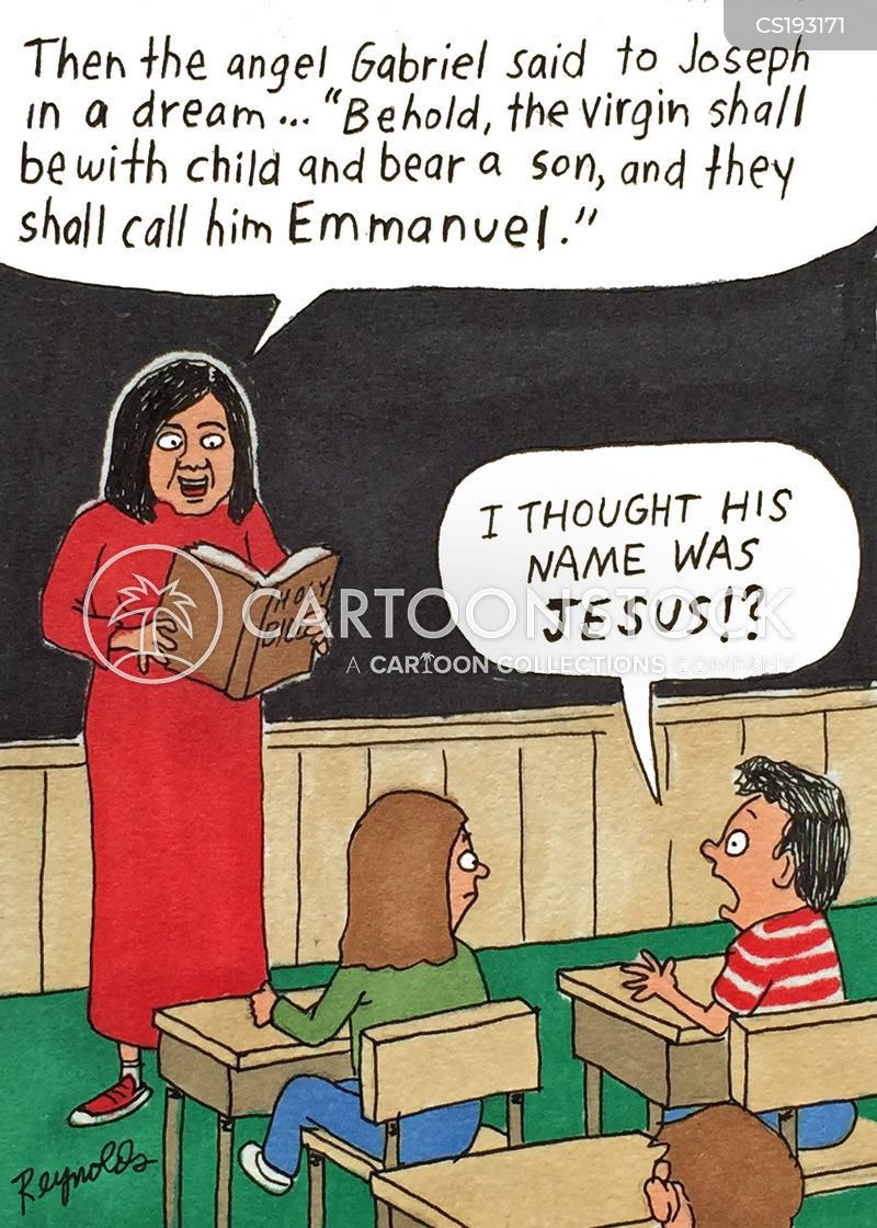 catechesis cartoon
