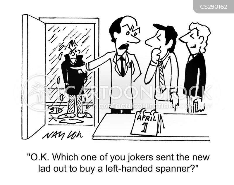 spanners cartoon