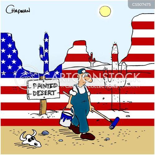 national flag cartoon