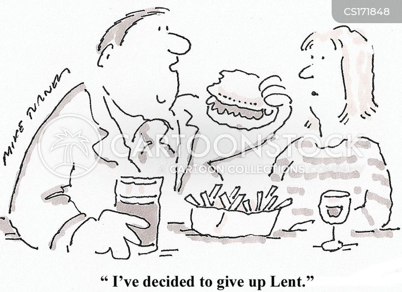 fasting cartoon