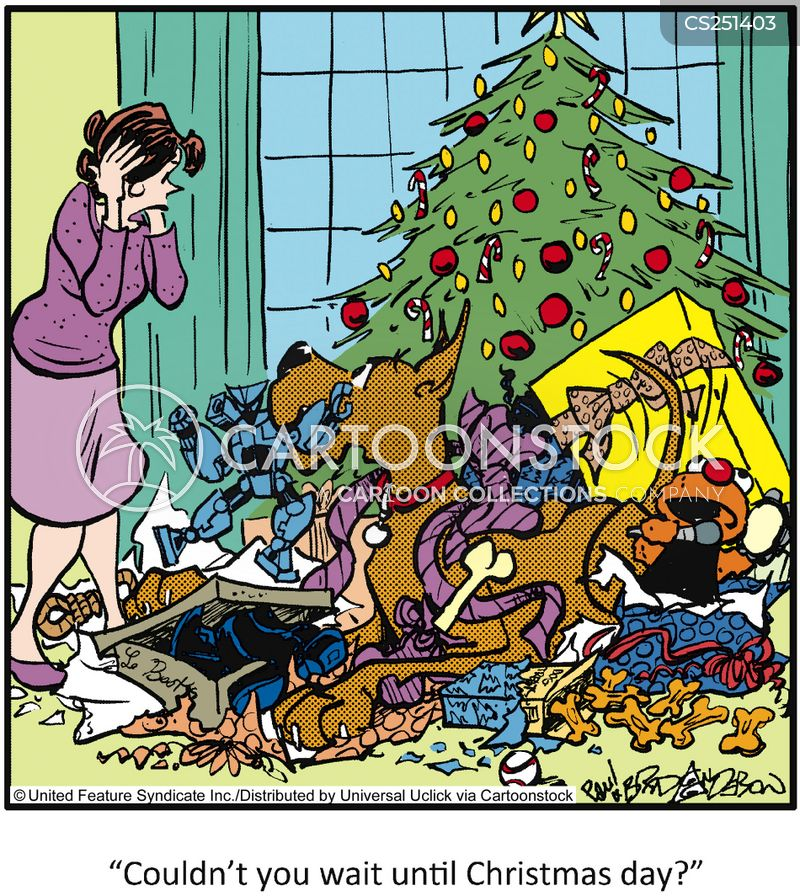 wrapping papers cartoon