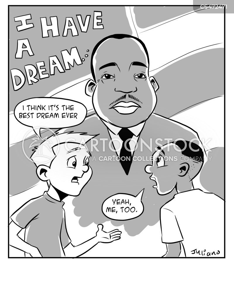 i have a dream.march on washington for jobs and freedom cartoon