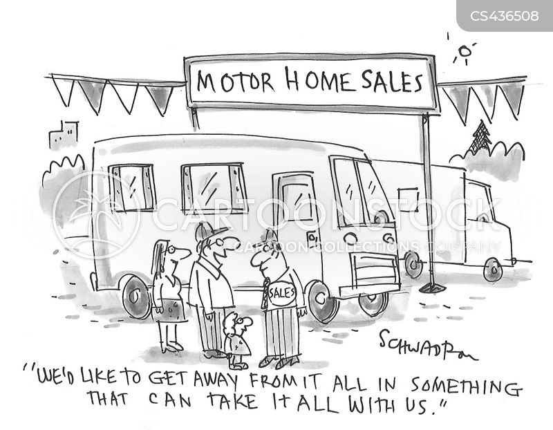 camper van cartoon