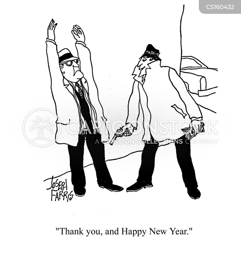 Wishing A Happy New Year Cartoons and Comics - funny pictures from ...