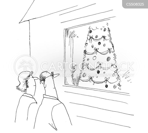 noisy neigbors cartoon