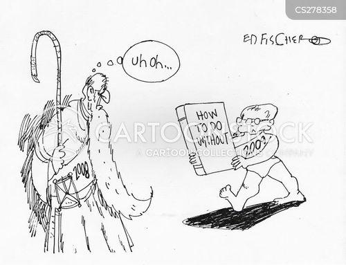 shortfall cartoon