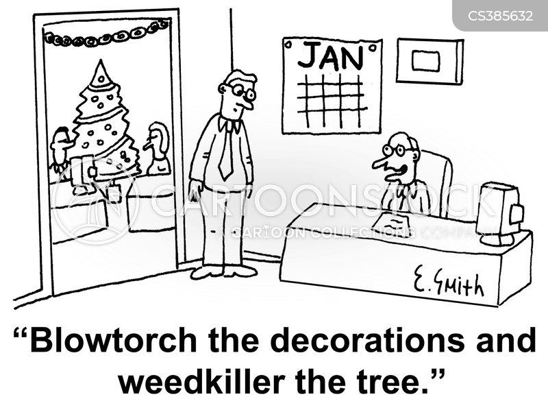 Post Christmas Cartoons and Comics - funny pictures from CartoonStock