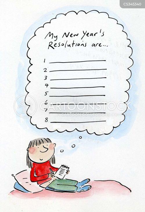 january cartoon