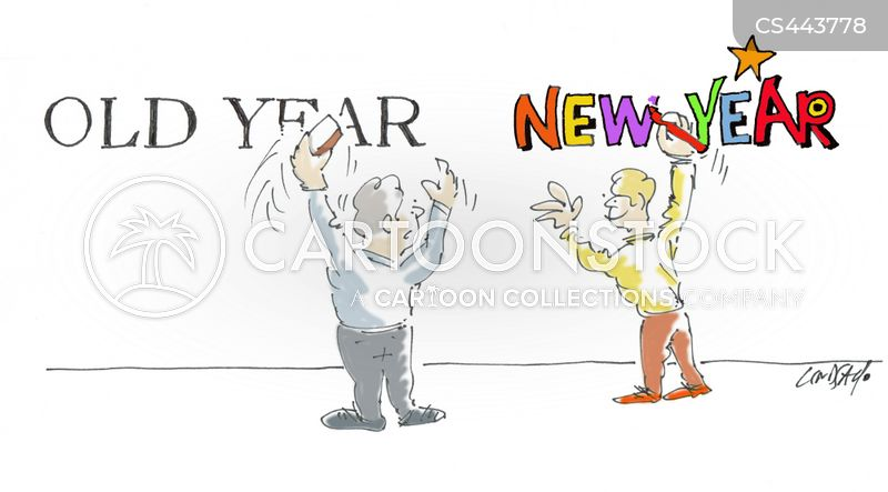 happy new year cartoon 23 of 69