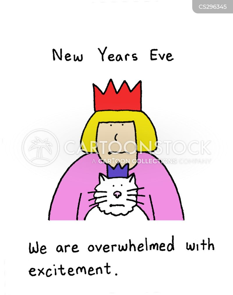 New Year\'s Eve Party Cartoons and Comics - funny pictures from ...