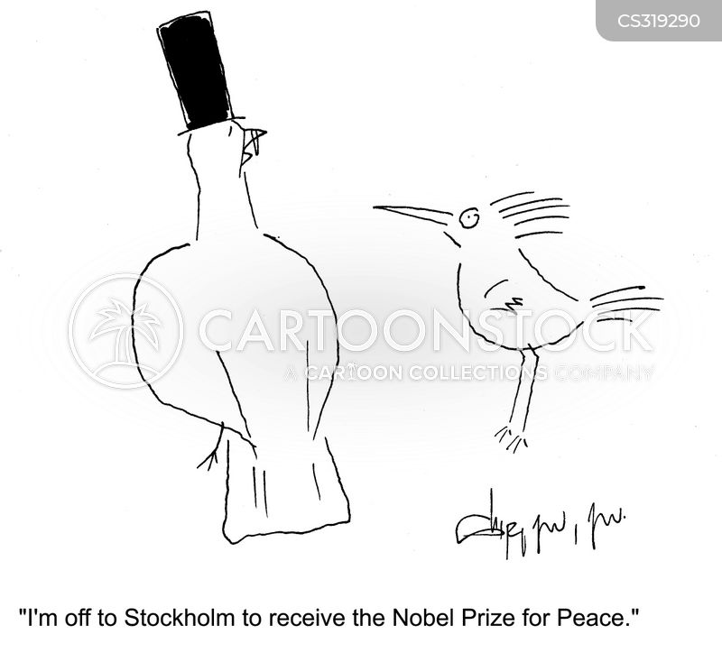 Nobel Peace Awards cartoons, Nobel Peace Awards cartoon, funny, Nobel Peace Awards picture, Nobel Peace Awards pictures, Nobel Peace Awards image, Nobel Peace Awards images, Nobel Peace Awards illustration, Nobel Peace Awards illustrations