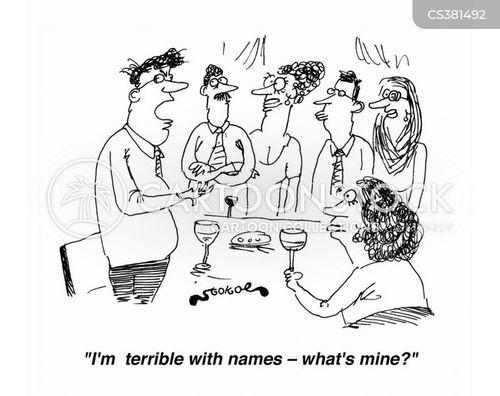 forgetting names cartoon