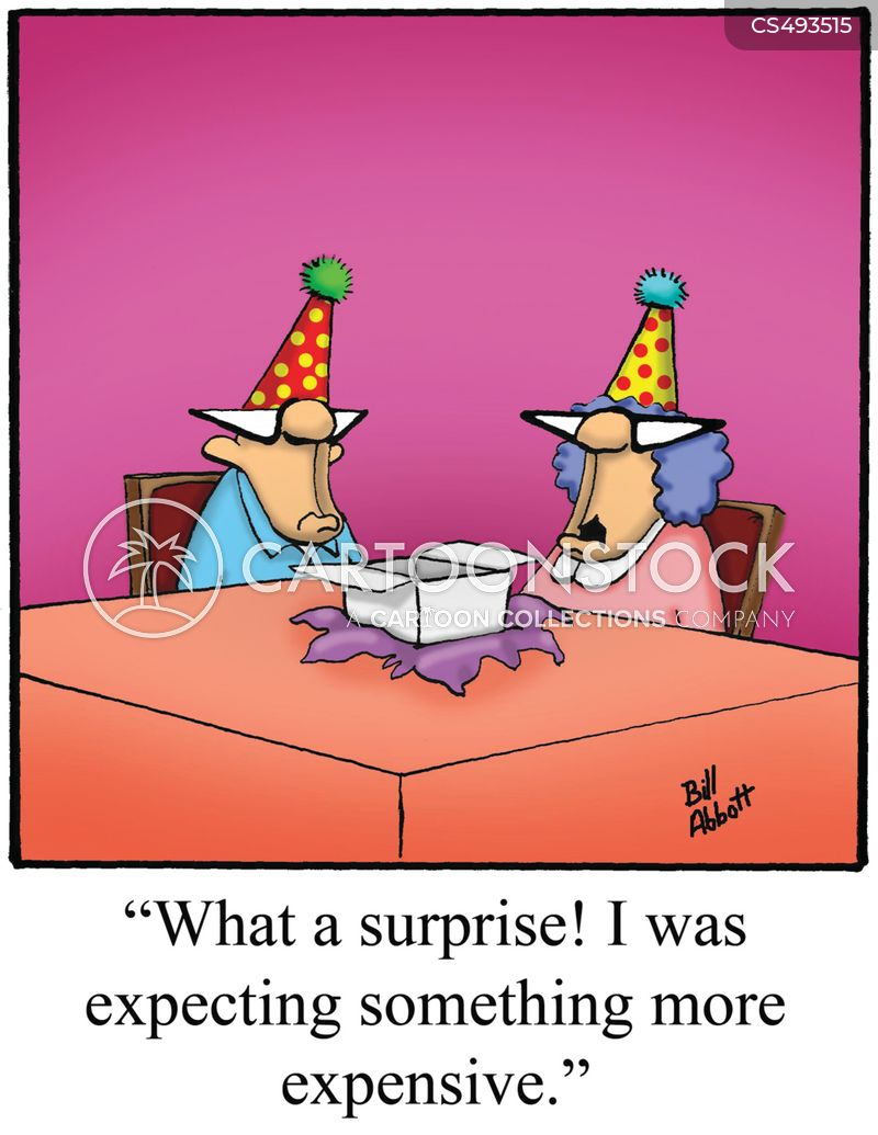 expensive gift cartoon