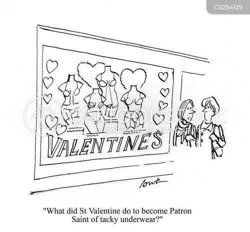 U0027What Did St. Valentine Do To Become Patron Saint Of Tacky Underwear?u0027