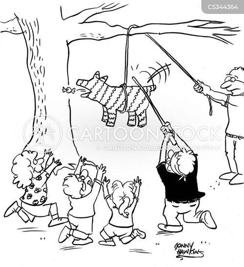 heimlich maneuver cartoon