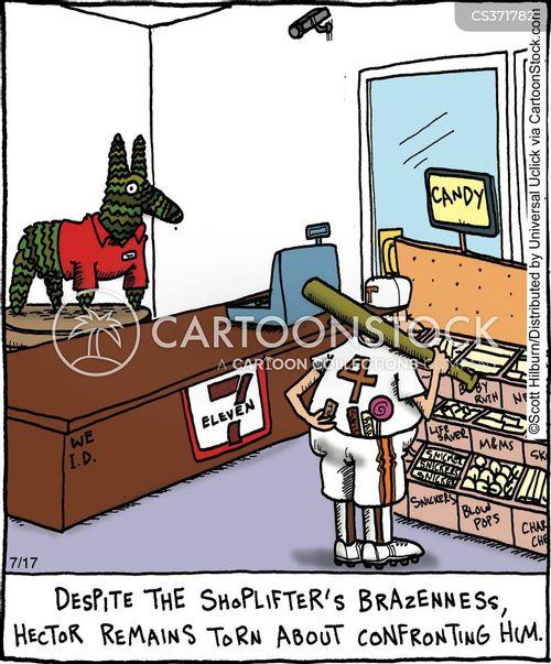 petty theft cartoon