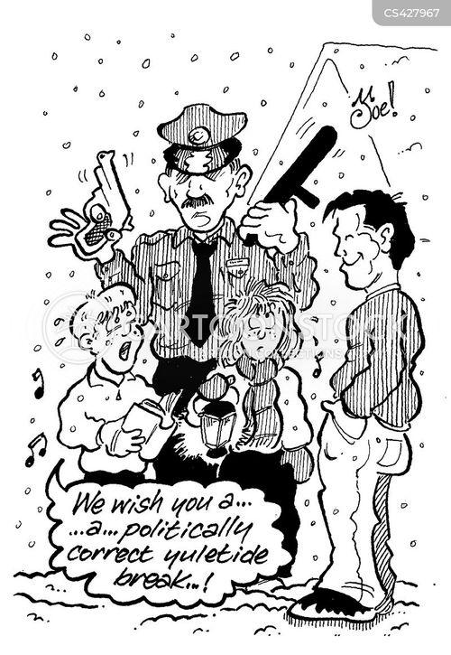 carol singer cartoon