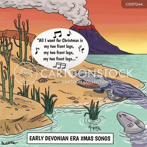 xmas songs cartoon
