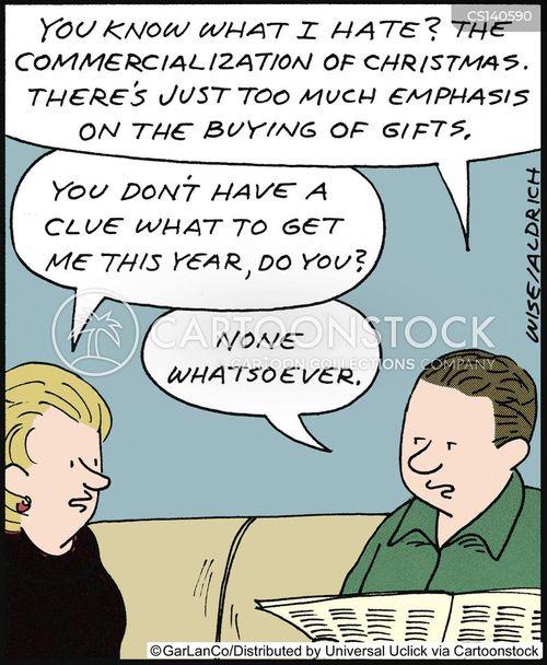 commercialisation cartoon