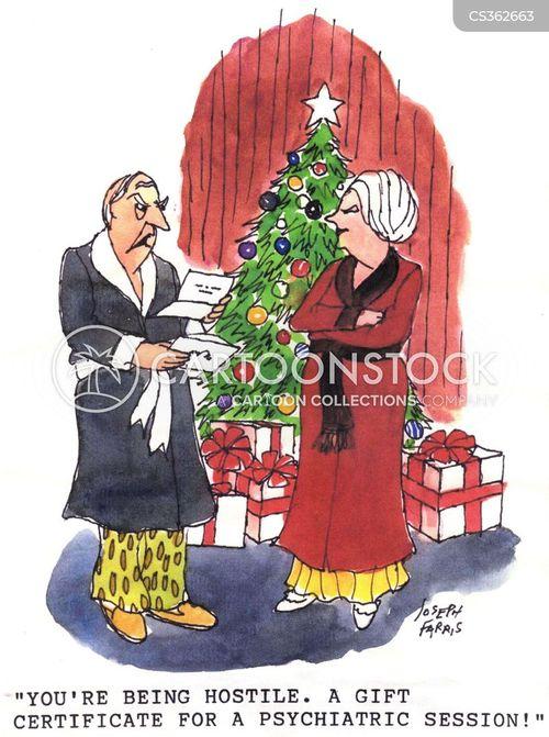 gift certificates cartoon