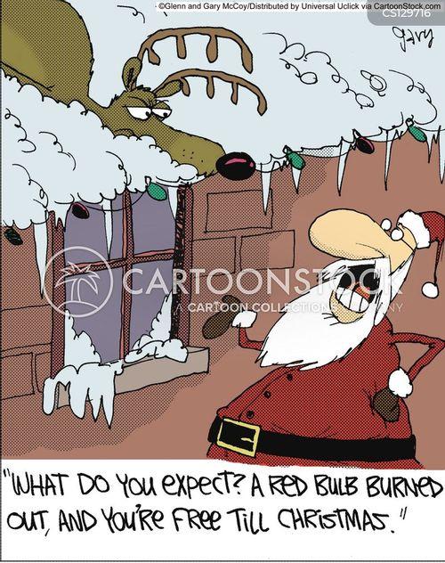 rudolph the red nose reindeer cartoon