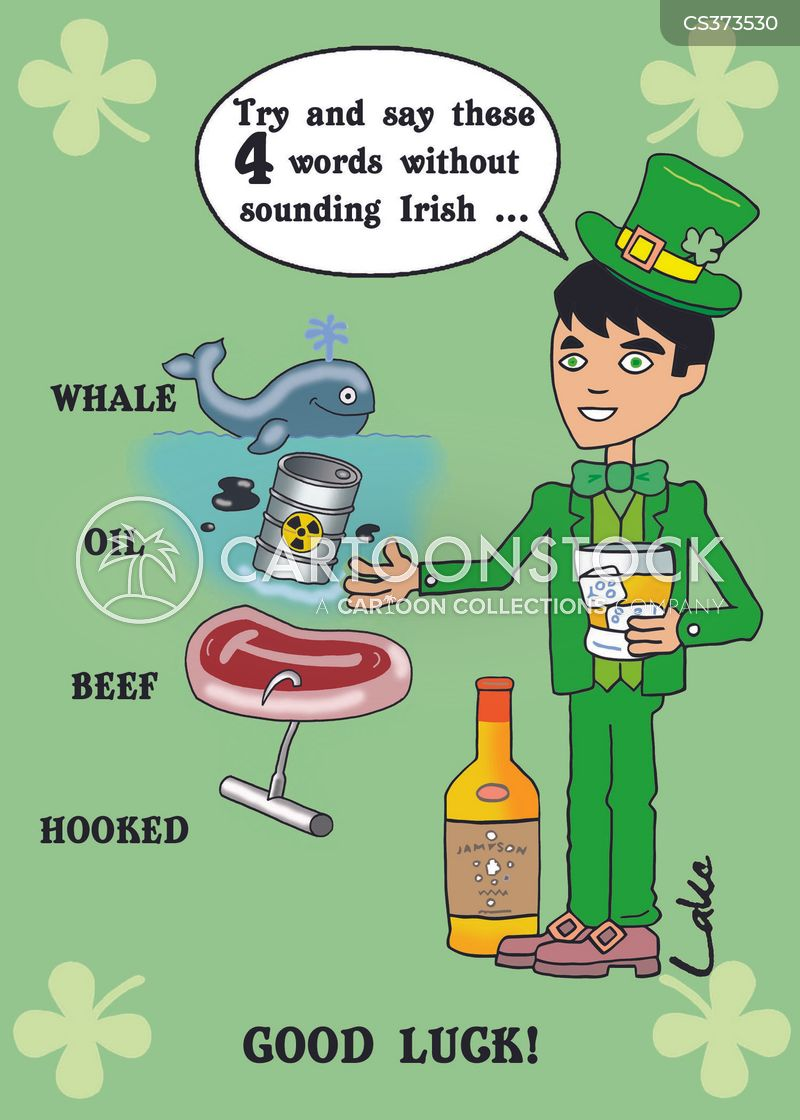 irish accents cartoon
