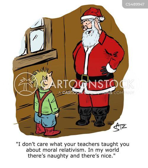 moral relativism cartoon