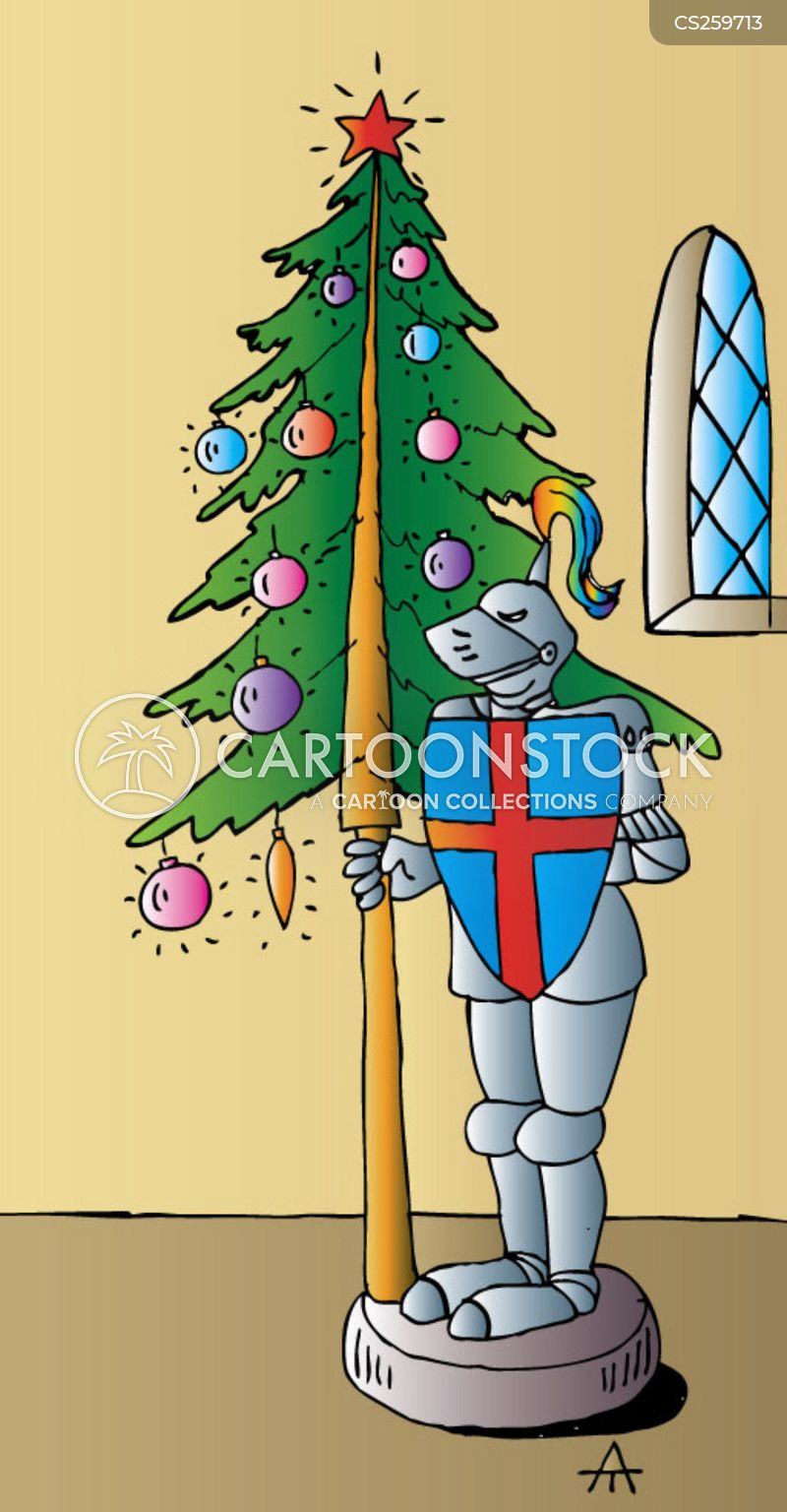 father christmases cartoon