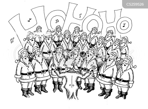 chorale cartoon