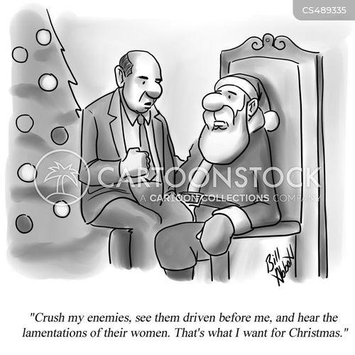 lamentation cartoon