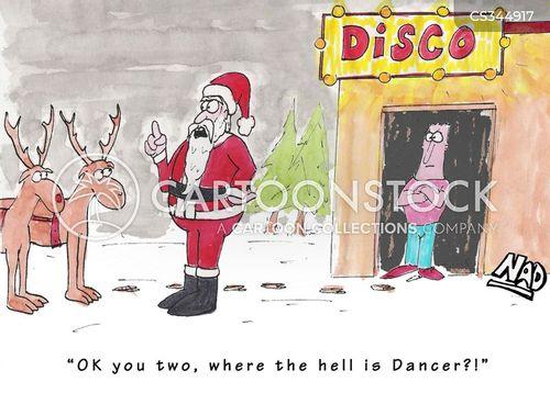 disco dancer cartoon