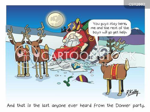 crash landing cartoon