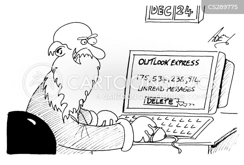 e mailing cartoon