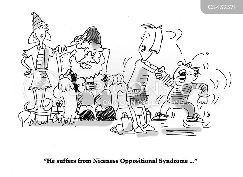 behavioural problem cartoon