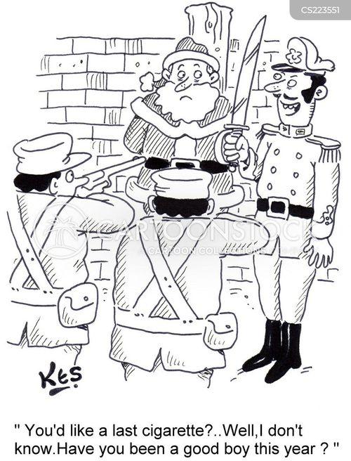 executer cartoon
