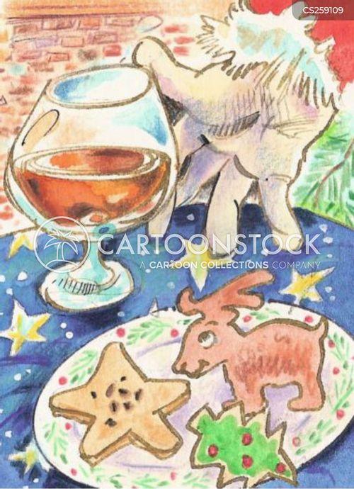 christmas treats cartoon