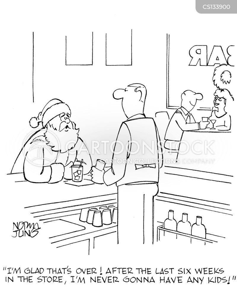 seasonal jobs cartoon