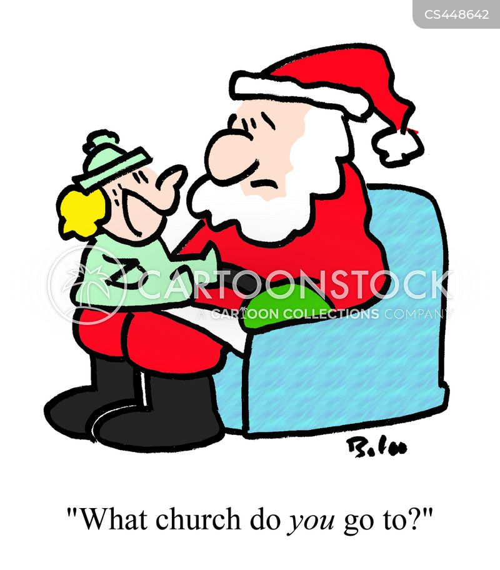 secularization cartoon