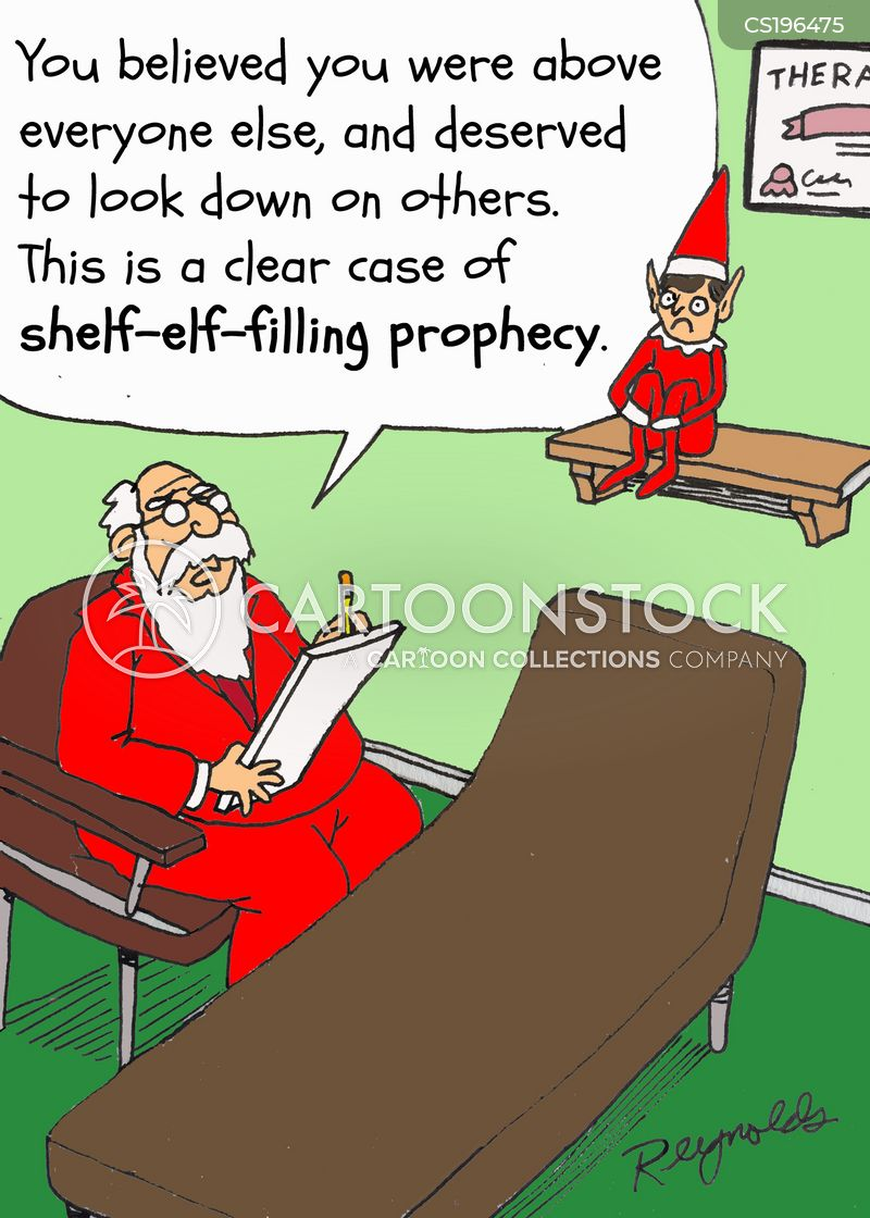 self-fulfilling prophecy cartoon