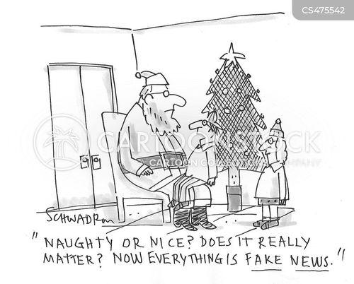 fake news epidemic cartoon