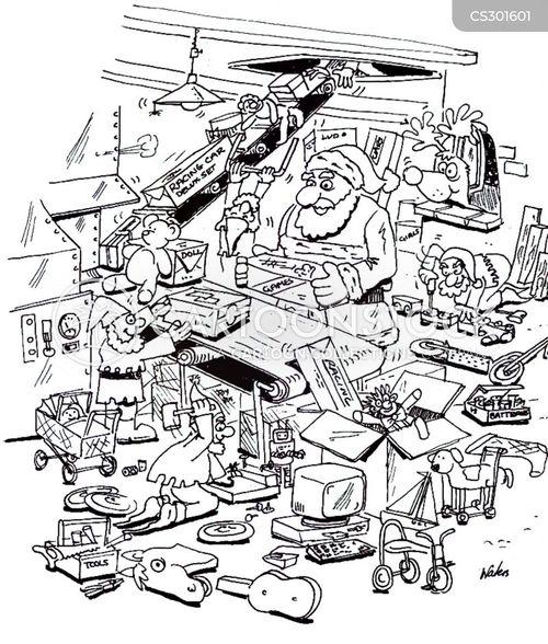 making toys cartoon