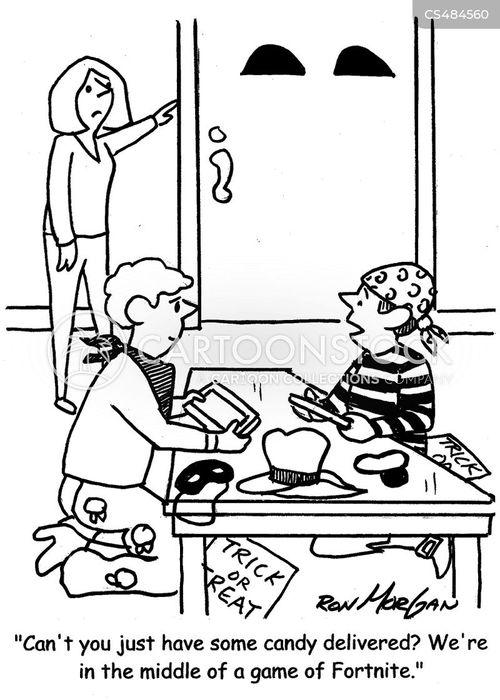 video-games cartoon
